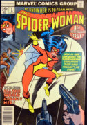 Spider-Woman 1 origine benzi desenate marvel vechi
