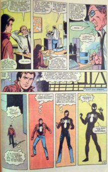 Marvel Spider-Man Black Costume Daredevil