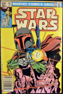 Originea lui Boba Fett Star Wars benzi desenate Marvel