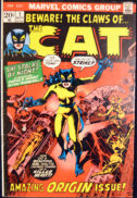 The Claws of Cat Marvel origine benzi desenate Bucuresti