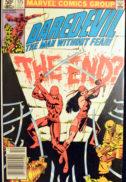 Daredevil Elektra benzi desenate vechi