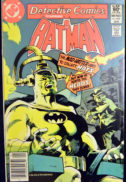 Batman detective comics silver bronze age