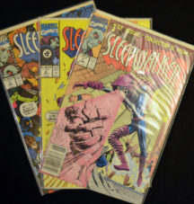Sleepwalker benzi desenate comics lot