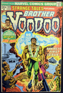 Brother Voodoo prima aparitie Marvel comics