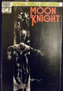 Moon Knight Black Spectre black cover comic