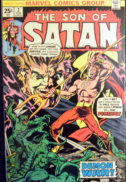 Son of Satan origine benzi desenate comics