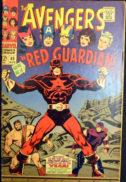 Red Guardian benzi desenate Avengers Marvel
