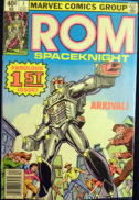 ROM spaceknight benzi desenate vechi Marvel