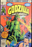 Godzilla benzi desenate vechi marvel Fury