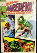 Daredevil marvel benzi desenate vechi