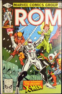 ROM X-men benzi desenate vechi comics