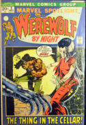 Marvel WErewolf by Night benzi desenate comics