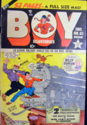 Boy Comics Gold Age Hitler benzi desenate vechi