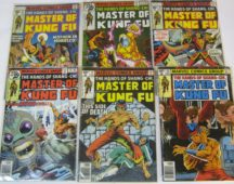 Master of Kung Fu benzi desenate comics marvel
