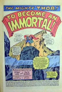 Thor HIm, benzi desenate vechi marvel
