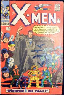 X-Men benzi desenate vechi Super-Villains