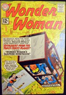 Wonder Woman benzi dc silver