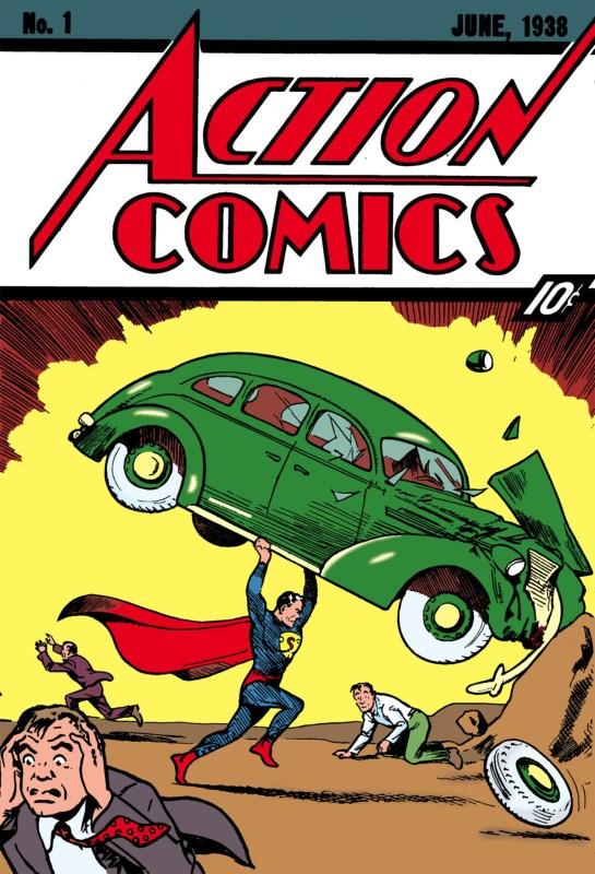 Action Comics 1, sau inceputul Gold Age
