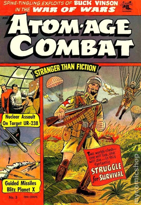 Atom Age Combat, exemplu bun pentru era Atom Age