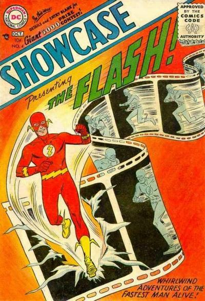 Showcase 4, inceputul Silver Age