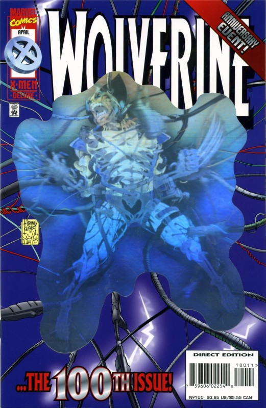 Wolverine Holo cover - tipic anilor '90