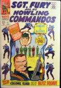 Sgt Fury benzi desenate vechi