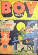 Boy Comics razboiul mondial supereroi gold age benzi desenate