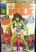 She hulk aparitie benzi desenate marvel vechi