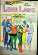 Justice League silver age batman superman lois lane benzi desenate
