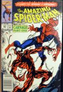 Primul carnage aparitie origine benzi desenate vechi Spider-Man