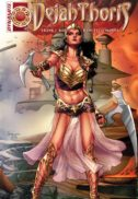 Dejah Thoris benzi desenate noi dynamite