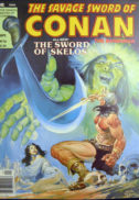 Savage sword of Conan benzi desenate vechi marvel