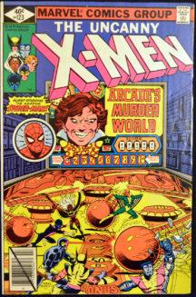 Uncanny X-Men Spider-Man Marvel comic vechi