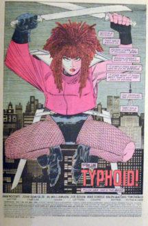 Daredevil Typhoid Mary benzi desenate vechi