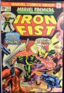Triple-Iron iron fist Marvel benzi desenate vechi