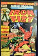 Iron Fist Marvel benzi desenate vechi Warhawk