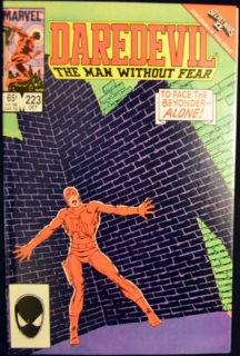 Daredevil Beyonder comics benzi desenate vechi