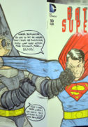 Arta originala Batman Superman arta originala