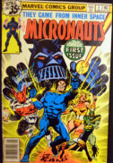 Micronauts benzi desenate vechi prime aparitii comics