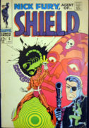 Jim Steranko benzi desenate vechi silver age Nick Fury agent of SHIELD