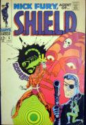 Jim Steranko benzi desenate vechi silver age Nick Fury agent of SHIELD