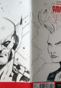 Amazing X-Men arta originala Ene Mihai