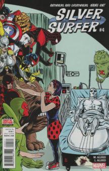 Silver Surfer benzi desenate noi Marvel