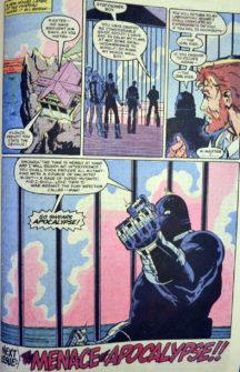 Apocalypse Marvel benzi desenate vechi Marvel Romania