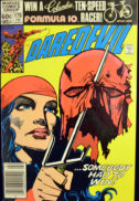 Marvel Elektra anti fumat Daredevil benzi desenate banda desenata
