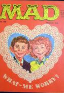 Revista MAD din Golden Age benzi desenate reviste