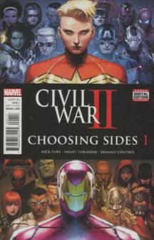 Civil war choosing sides marvel benzi desenate noi
