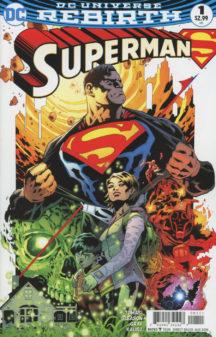 Superman Rebirth 1 benzi desenate noi lois clark