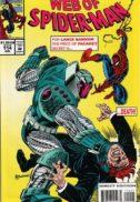 Web of spider-man benzi desenate marvel vechi