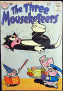 Mouseketeers DC Comics vechi gold age